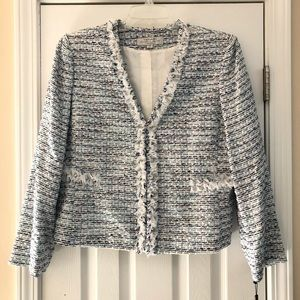 Tahari Petite Multi Color Skirt Suit NWT